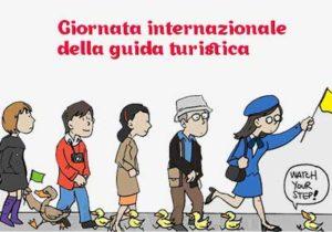 logo giornata internazionale della guida turistica