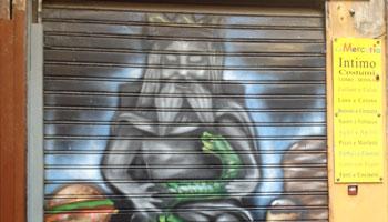 Murales sul Genio di Palermo
