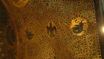 Decori Palazzo dei Normanni